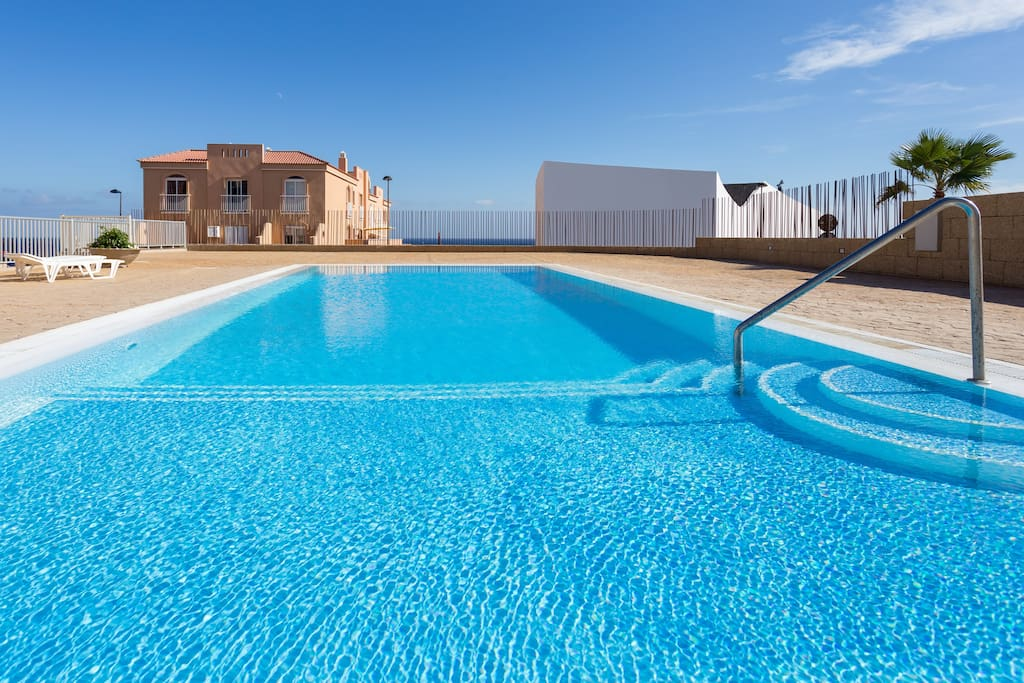 Fantastic pool, private for the apartments.
