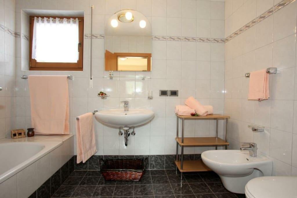 Ciasa Rudiferia Big bathroom