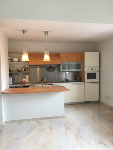 Brand new sunny silent flat panoramic double room