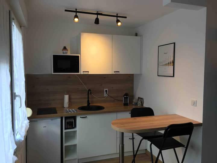 Studio spacieux Saint-Rémi