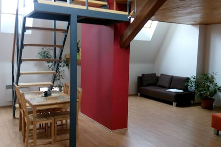 Vybavený podkrovní byt (mezonet) - Brno - Apartment