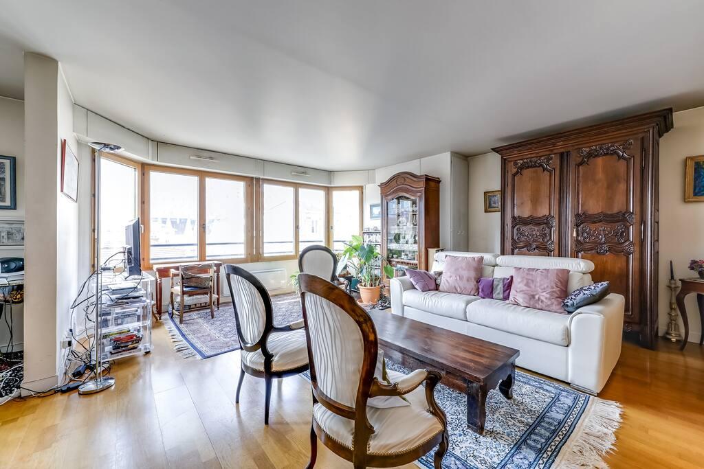 Bright living-room
