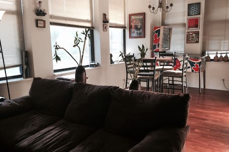 Comfy Couch in South Loop/Printers Row - Apartment