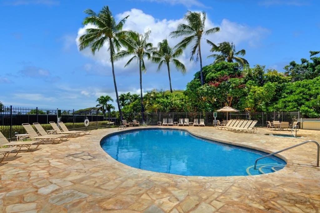 Poipu Kai Resort Pool/jacuzzi