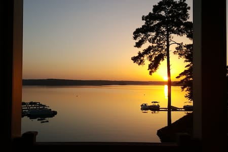 Lake Front Condo with Million Dollar views - Eatonton - Condomínio