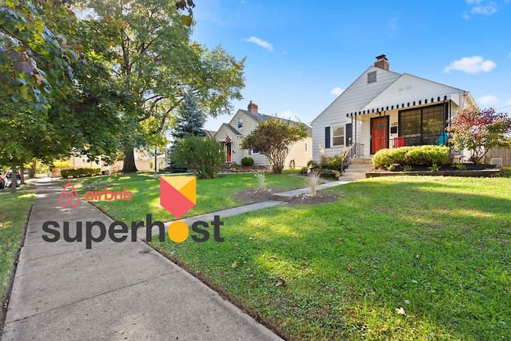 Grandview Home -Minutes from Downtown & Ohio State