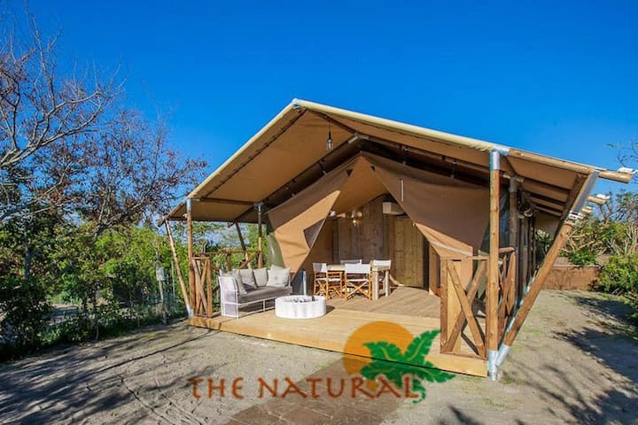 The Natural Curacao - Safari Tent #1