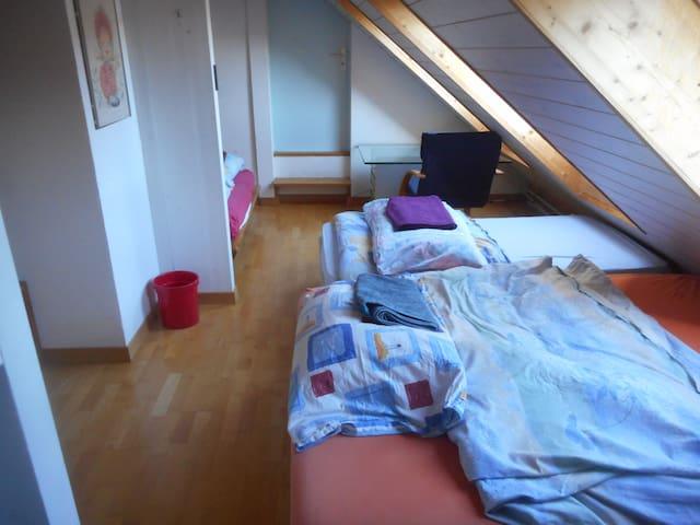 Zimmer mit maximal 5 Schlafplätzen