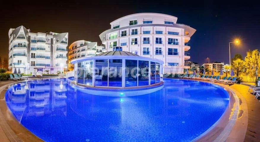 Классная квартира 2+1 в Мелда Палас! - Antalya - Pis