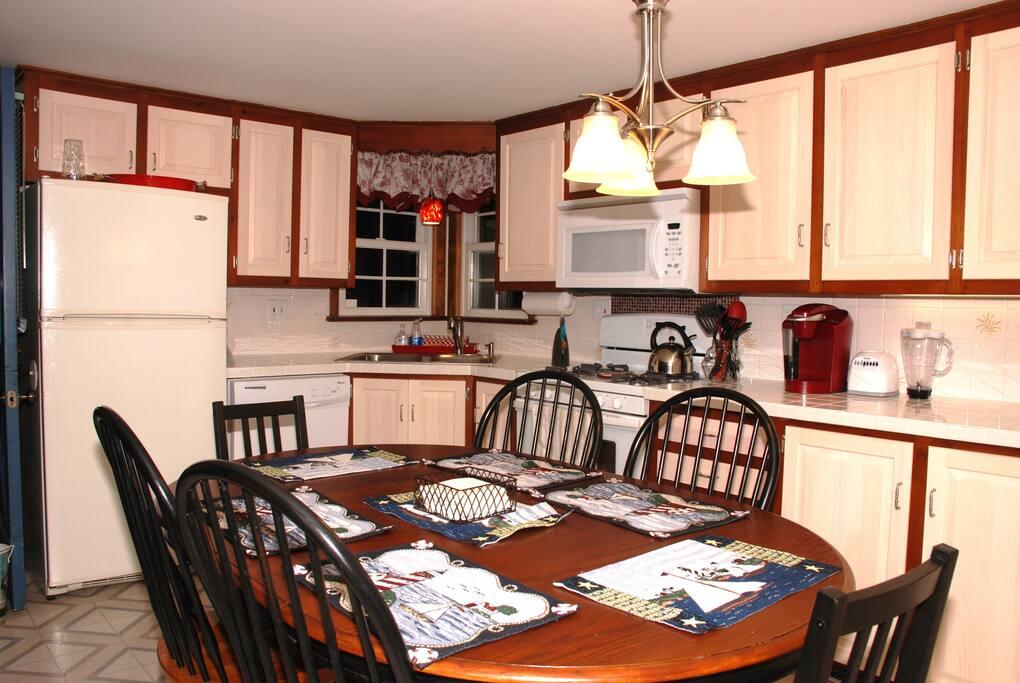 Fully stocked kitchen, minus the food!