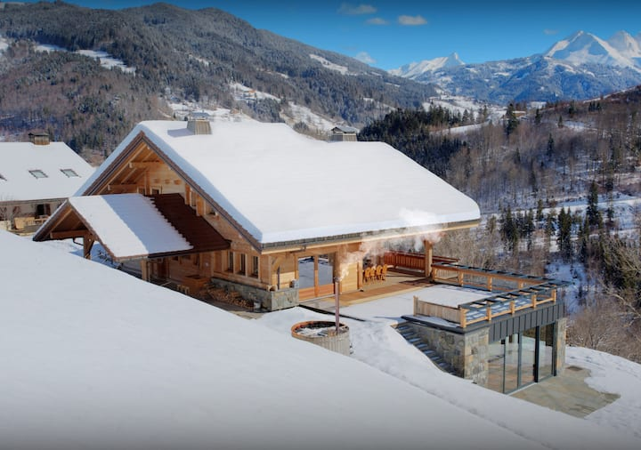 Indoor pool, gym and home cinema at this stunning chalet - OVO Network