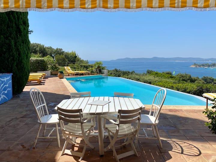 100 square meter appartment in a villa