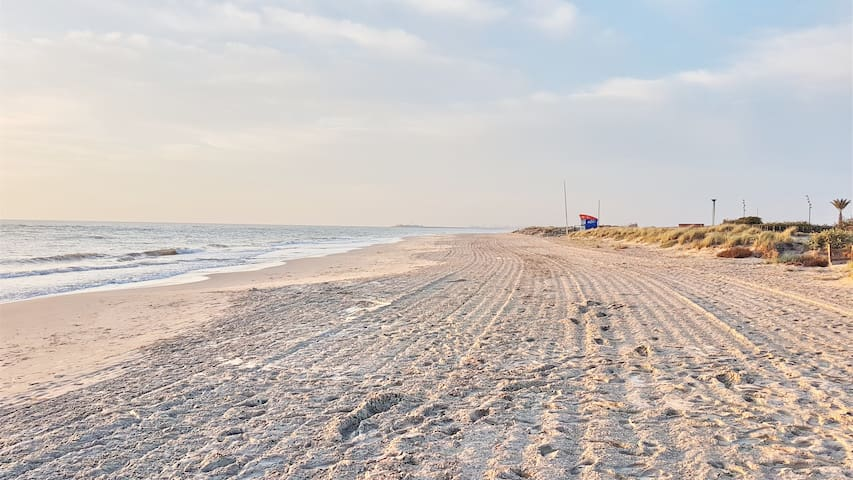 Natural Beach in El Mojón