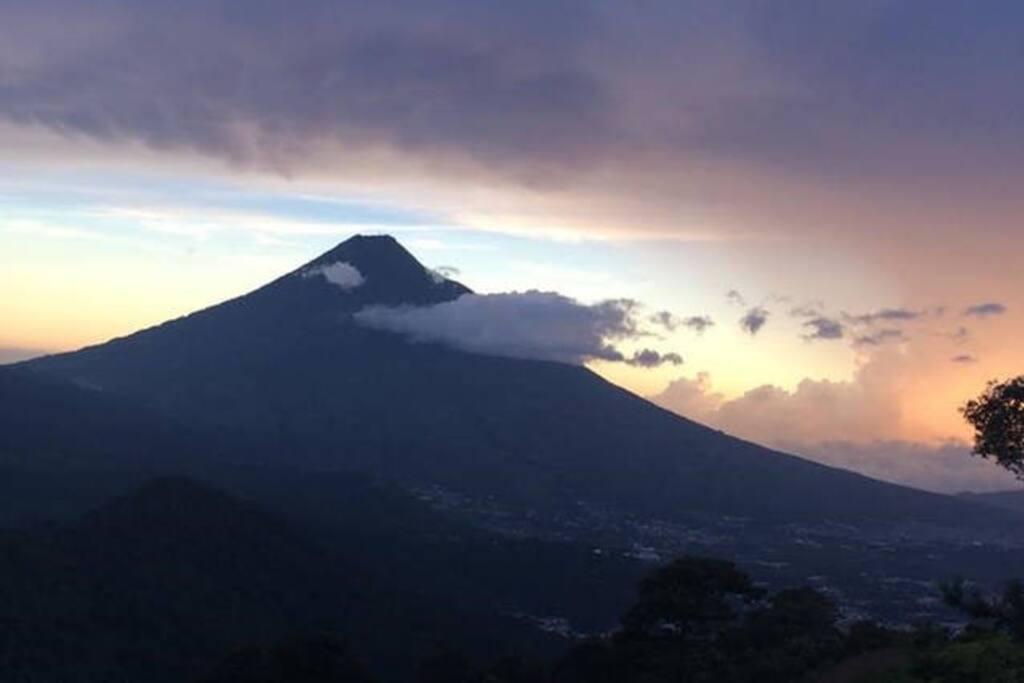 Landscape over Water Volcanoe