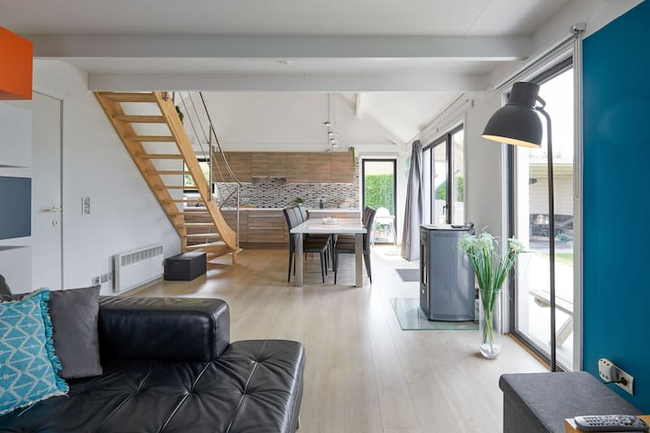 Charming modern style fisherman's house in De Haan