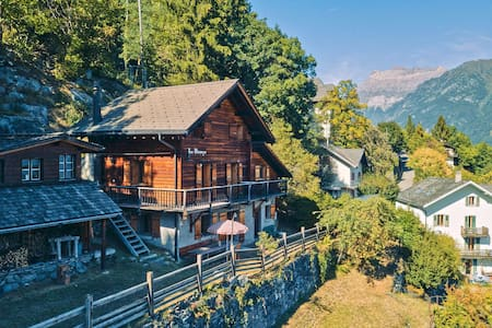 Fully equipped chalet in Salvan/Les Marécottes
