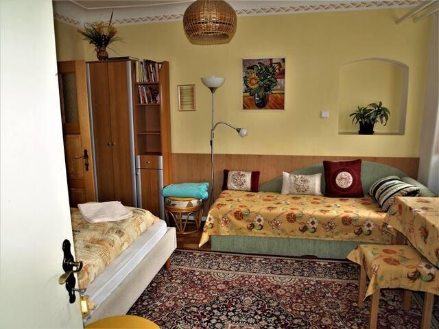 Apartmán - obytná místnost