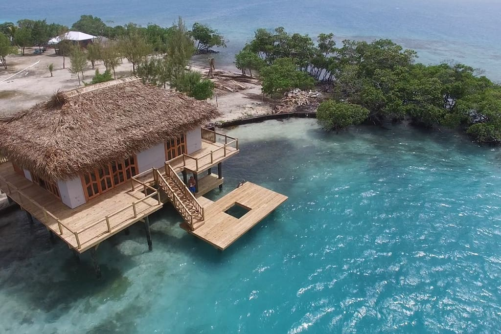 OVER WATER THATCH BUNGALOW