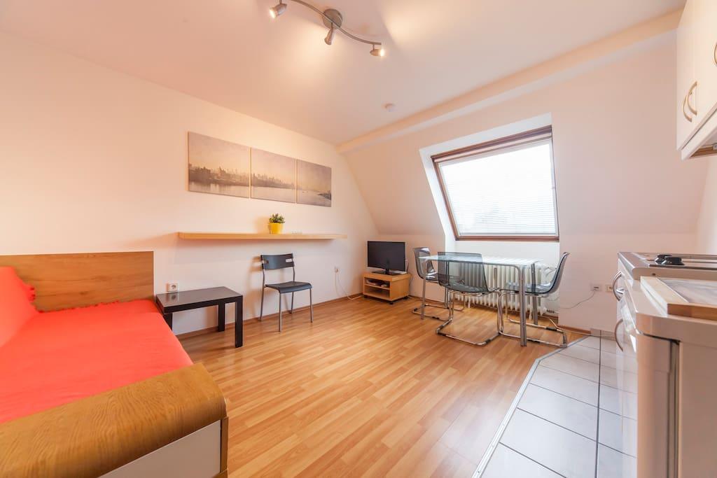 2 Zimmer Wohnung In Dortmund City F R 1 3 Flats For Rent In Dortmund Nordrhein Westfalen Germany