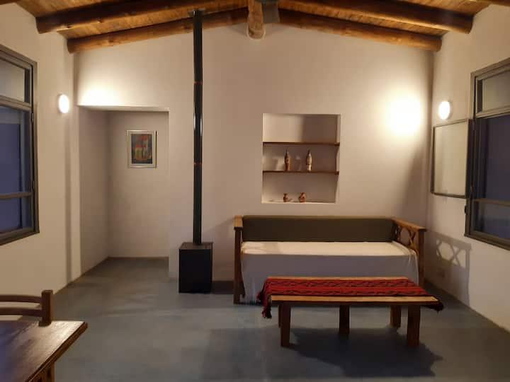 Casa mágica en la sierra, con vista al Champaquí