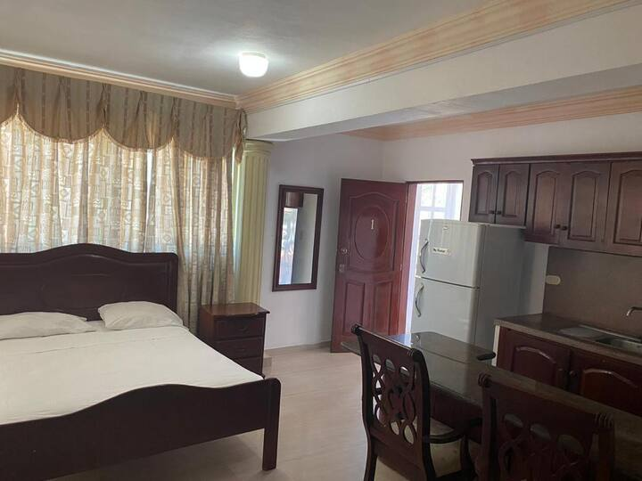 Double room with street view