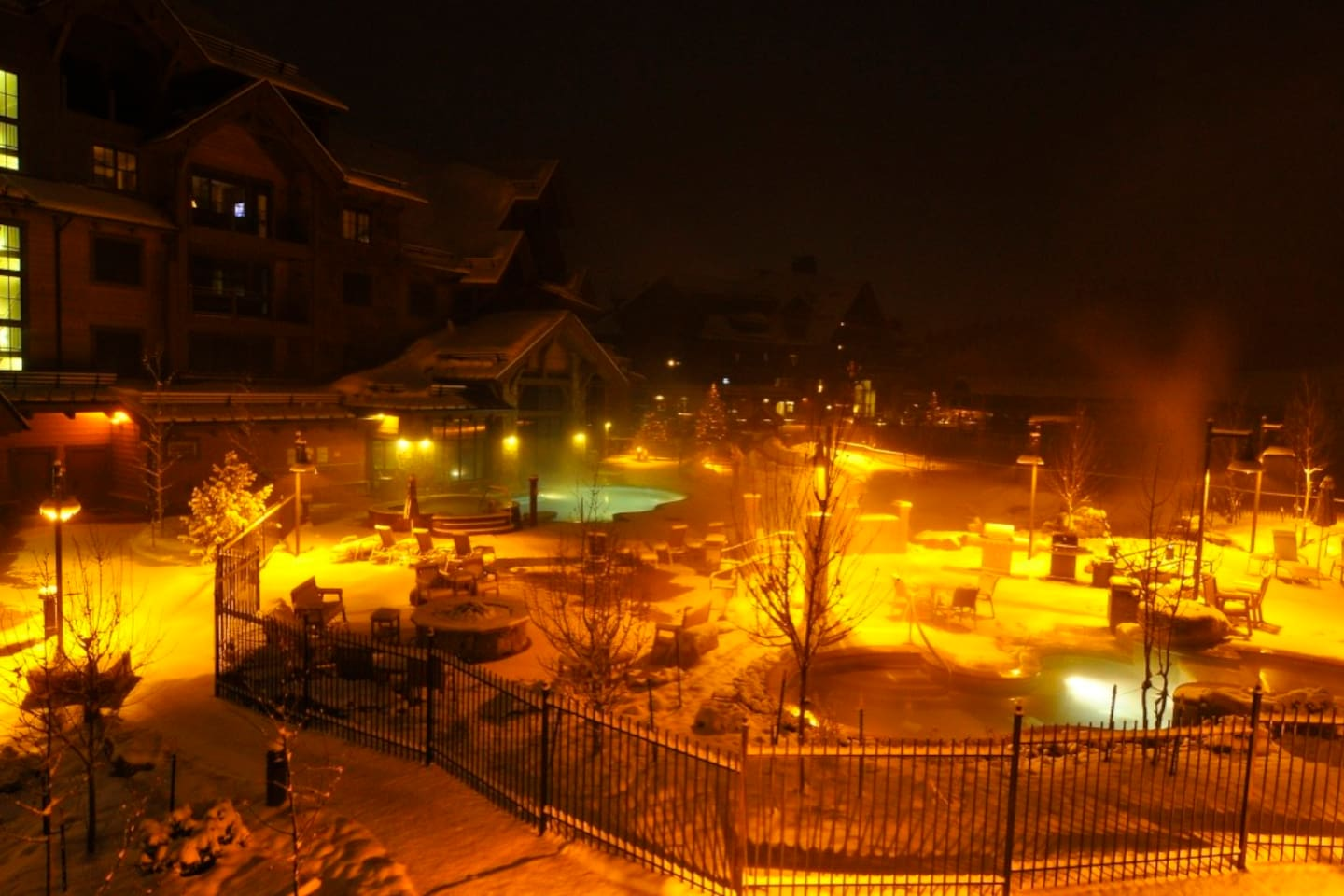 Ski all day/Hot tub when the suns goes down/Repeat!