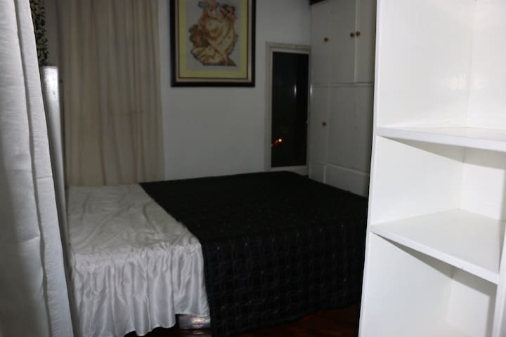 Masters bedroom king size bed
