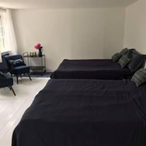Luksus B&B med 2 dobbelt senge