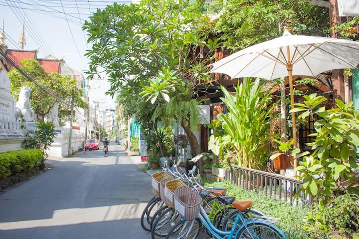 Garden Balcony Villa (free Bycicle, Breakfast)