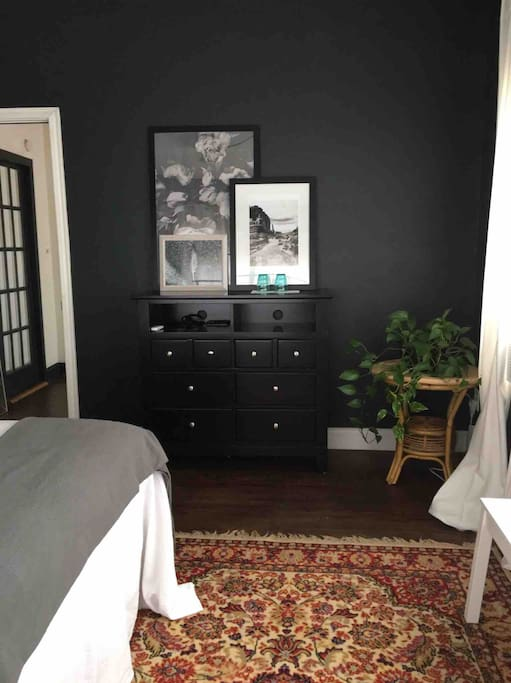 Dresser for guest use