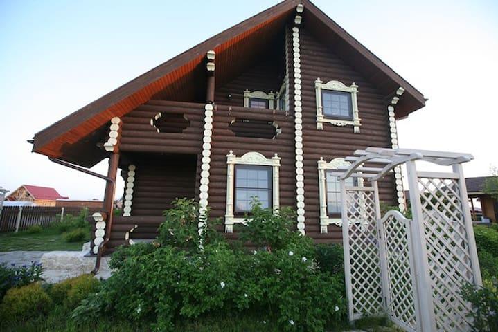 Уютный деревянный дом под Можайском - Moscow Oblast - House