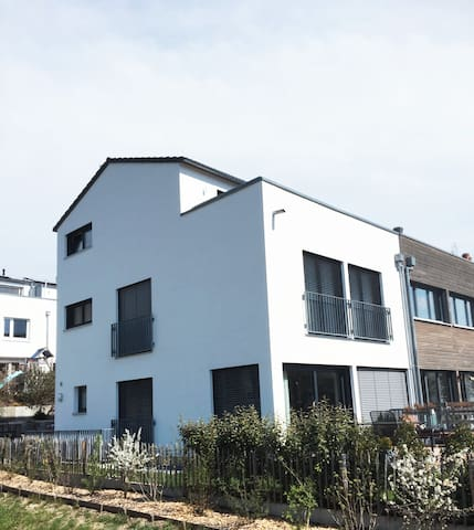 new&modern house for family and kids in quiet area - Konstanz - Ev