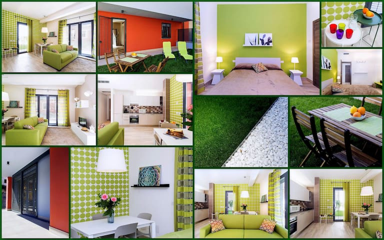 """""""Green Holiday House"""" - PT di SkyTower (7 Case)"""