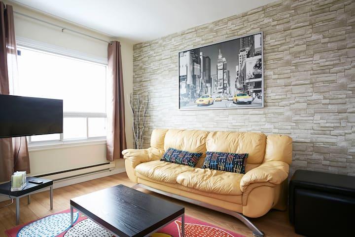Condo moderne 2 chambres. - Montreal - Pis