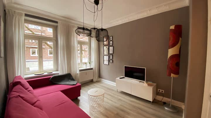Design apartment in the heart of Winterhude