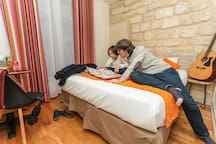 Double room in hostel near Gare du Nord