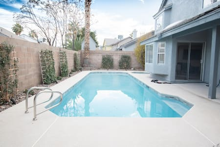 Private Pool & Spa retreat in Las Vegas