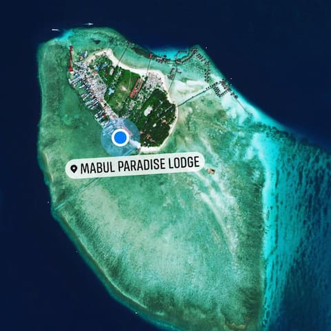We are located behind the only primary school of Mabul