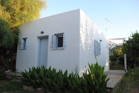 Tiny House at main Skyros beach