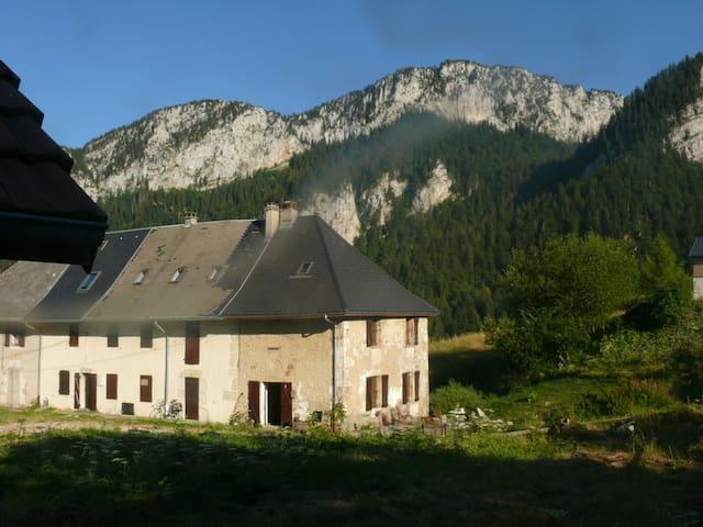 Au coeur de la Chartreuse - Saint-Christophe-sur-Guiers - Huis