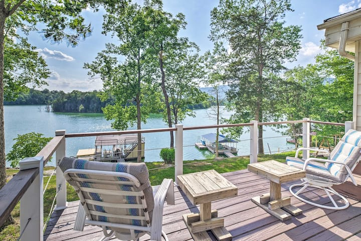 LaFollete Home w/Norris Lake Boathouse & Dock