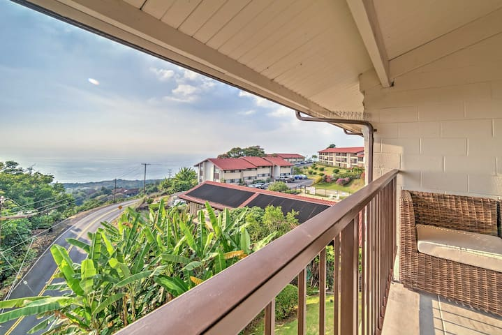 Wonderful 2BR Holualoa Condo w/Ocean View! - Holualoa - Apartament