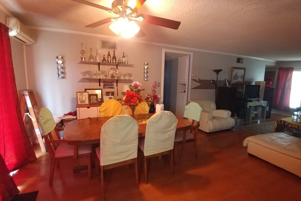 Shared Dining and LIVING room area
