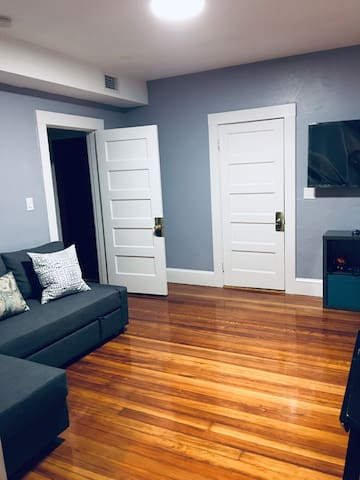Newton little one bedroom with parking