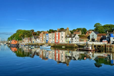 Beautiful Harbour cottage 29 steps from the sea!