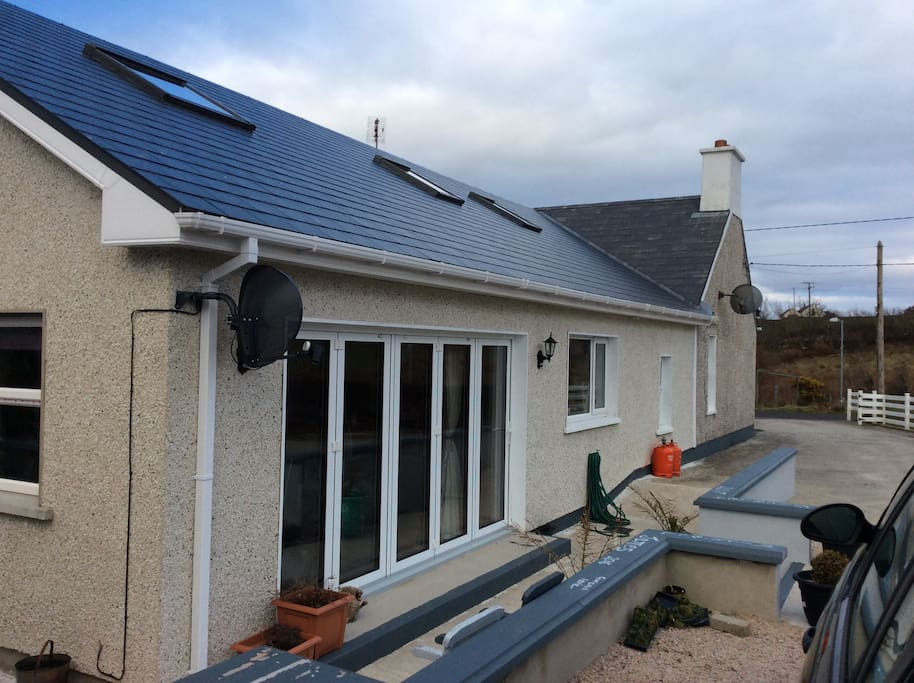 Side rear of cottage conversion