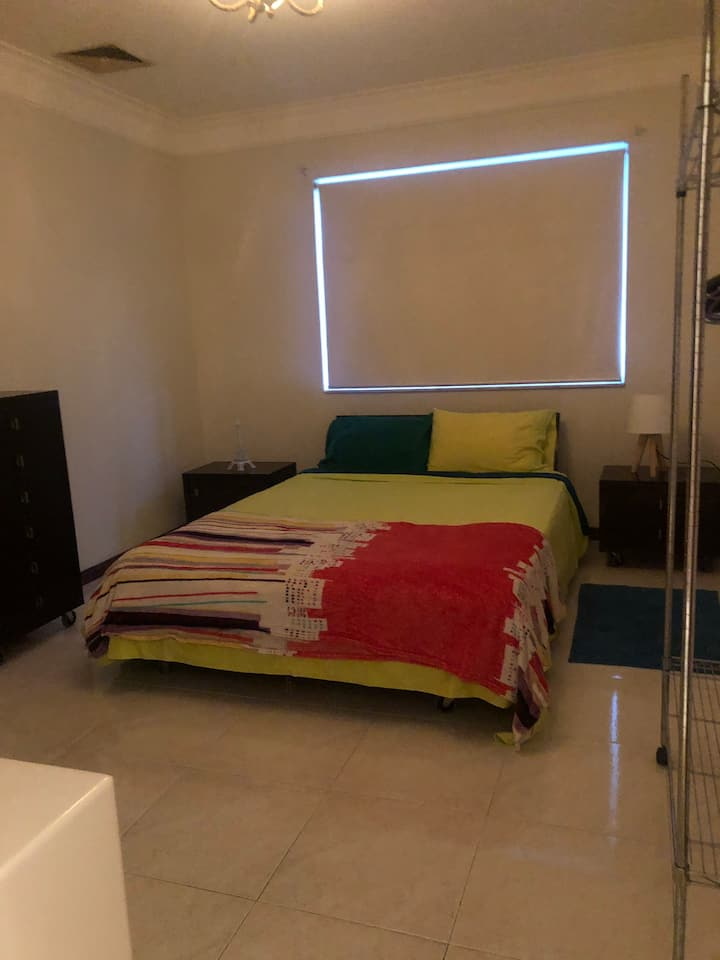 Comfortable double bedroom