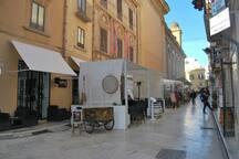 Centro storico ed enogastronomico