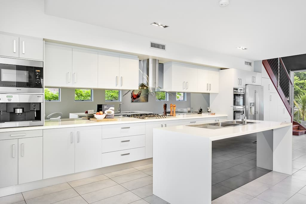 Chef's Kitchen with Miele Appliances