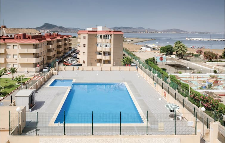 Holiday apartment with 2 bedrooms on 52m² in La Manga del Mar Menor